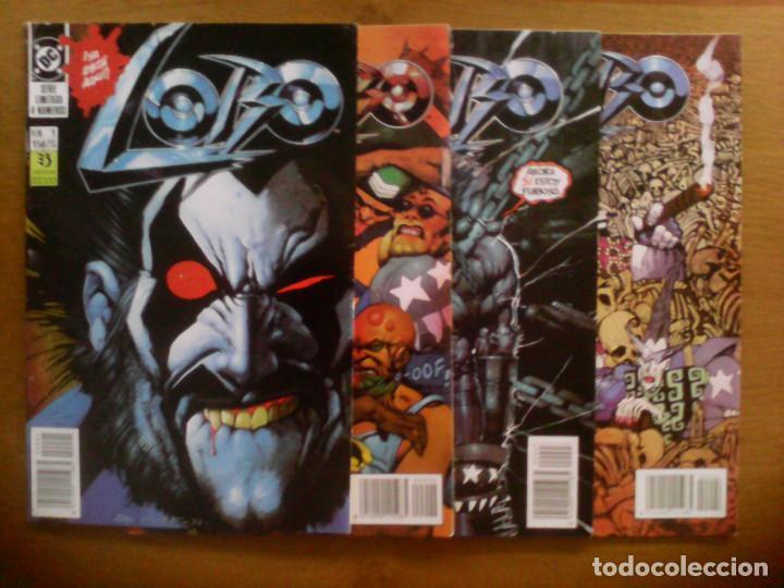 LOBO. SERIE LIMITADA. EL ÚLTIMO CZARNIANO. 1 AL 4 (Tebeos y Comics - Zinco - Lobo)
