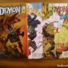 Lobo. Serie Limitada. Demon 1 al 4