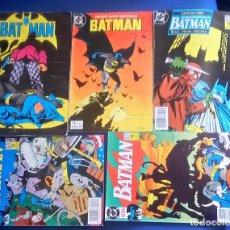 Cómics: LOTE 5 COMICS DE BATMAN 16,27,35,47,49. Lote 135138598
