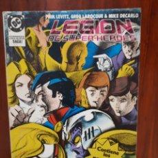 Cómics: LEGION DE SUPER-HEROES - DC COMICS - EDICIONES ZINCO - RETAPADO - 5 NUMEROS - DIFICIL. Lote 44904819
