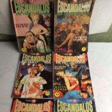 Cómics: ESCANDALOS HOLLYWOOD -LOTE DE 6 EJEMPLARES - RELATOS GRAFICOS PARA ADULTOS - EDITA : EDICIONES ZINCO. Lote 135270046