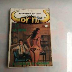 Cómics: CORNIS Nº 10 - RELATOS GRAFICOS PARA ADULTOS - EDITA : EDICIONES ASTRI. Lote 278975168