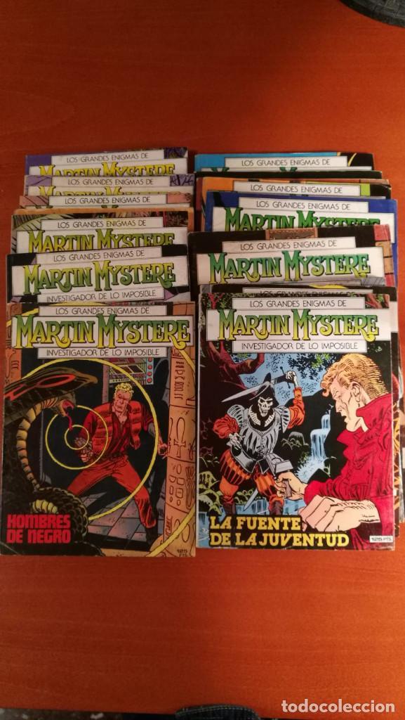 LOS GRANDES ENIGMAS DE MARTIN MYSTERE EDICIONES ZINCO COMPLETA 17 Nº (Tebeos y Comics - Zinco - Otros)