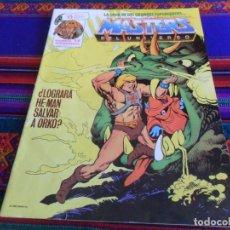 Cómics: MASTERS DEL UNIVERSO Nº 17. ZINCO 1988. 150 PTS. LOGRARÁ HE-MAN SALVAR A ORKO?. Lote 135385066
