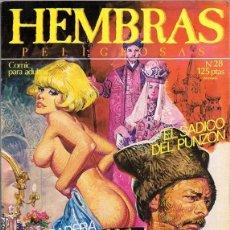 Cómics: HEMBRAS PELIGROSAS Nº 28 . Lote 135512746