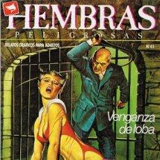 Cómics: HEMBRAS PELIGROSAS Nº 41 . Lote 135514918