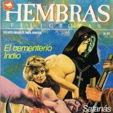 Cómics: HEMBRAS PELIGROSAS Nº 43. Lote 278570403