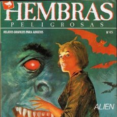 Cómics: HEMBRAS PELIGROSAS Nº 45. Lote 135515562