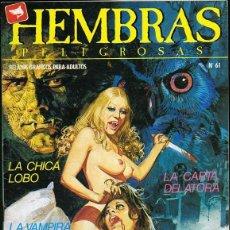 Cómics: HEMBRAS PELIGROSAS Nº 61 . Lote 135519090