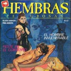 Comics: HEMBRAS PELIGROSAS Nº 62. Lote 135519262