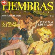 Comics: HEMBRAS PELIGROSAS Nº 65 . Lote 135519882