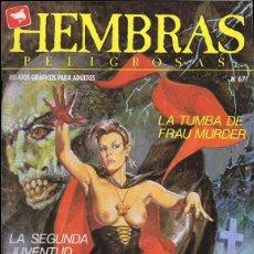 Comics : HEMBRAS PELIGROSAS Nº 67. Lote 135520378