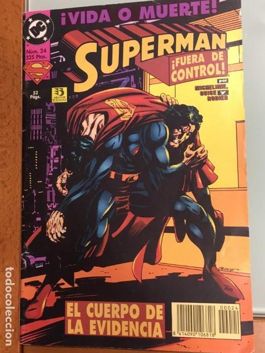 SUPERMAN Nº 24 EL CUERPO DE LA EVIDENCIA EDICIONES ZINCO MUY BUEN ESTADO (Tebeos y Comics - Zinco - Superman)