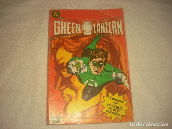 GREEN LANTERN , DC. RETAPADO Nº 3 . CONTIENE LOS NUMEROS 11 AL 15 (Tebeos y Comics - Zinco - Retapados)