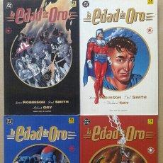 Cómics: LA EDAD DE ORO COMPLETA: LIBROS 1-2-3-4 (EDICIONES ZINCO, 1993). POR JAMES ROBINSON Y PAUL SMITH. Lote 135660025