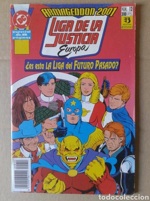 LIGA DE LA JUSTICIA EUROPA: ARMAGEDDON 2001 N°12 (EDICIONES ZINCO, 1991). POR GIFFEN Y JONS. (Tebeos y Comics - Zinco - Liga de la Justicia)