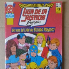Cómics: LIGA DE LA JUSTICIA EUROPA: ARMAGEDDON 2001 N°12 (EDICIONES ZINCO, 1991). POR GIFFEN Y JONS.. Lote 135661146