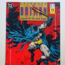 Cómics: LEYENDAS DE BATMAN Nº 23 (ZINCO) DC . Lote 136032138