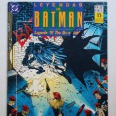 Cómics: LEYENDAS DE BATMAN Nº 22 (ZINCO) DC . Lote 136032170