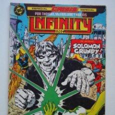 Comics: INFINITY INC Nº 20 (ZINCO) DC . Lote 136035074