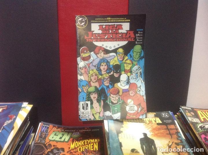 LIGA DE LA JUSTICIA INTERNACIONAL, N°19, EDICIONES ZINCO (Tebeos y Comics - Zinco - Liga de la Justicia)