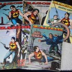 Cómics: ZAGOR - TOMOS NUMS 01,02,03,04 Y 07- EDICIONES ZINCO - 1983 . Lote 136296350