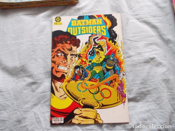 BATMAN Y LOS OUTSIDERS Nº 10. ZINCO (Tebeos y Comics - Zinco - Outsider)