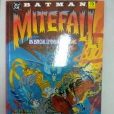 Comics : BATMAN MITEFALL. UN ESPECIAL LEYENDAS DE BATMAN. ALAN GRANT. Lote 136389094