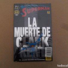 Cómics: SUPERMAN: LA MUERTE DE CLARK KENT LIBRO 1 - TOMO PRESTIGIO ED. ZINCO - NUEVO Y PRECINTADO. Lote 136435714