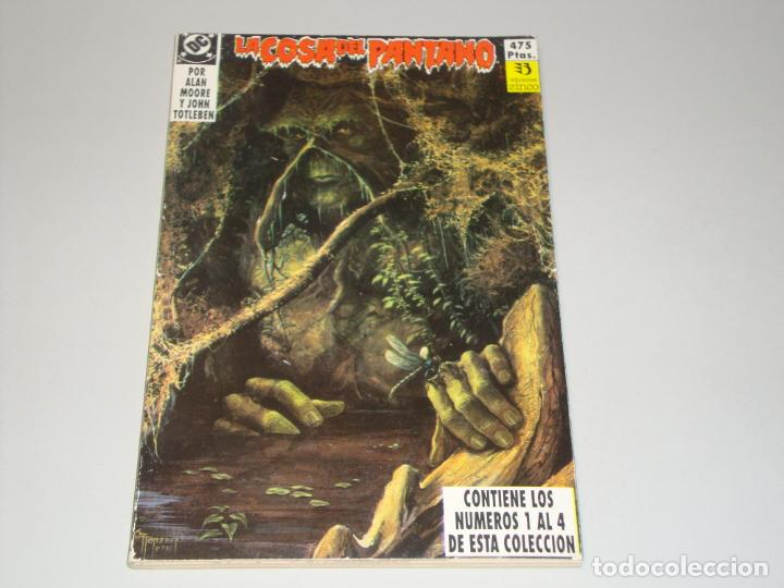 LA COSA DEL PANTANO DEL 1 AL 5 (Tebeos y Comics - Zinco - Cosa del Pantano)
