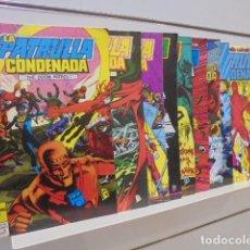 Cómics: LA PATRULLA CONDENADA COMPLETA 16 NUMS. - ZINCO OFERTA. Lote 139881622