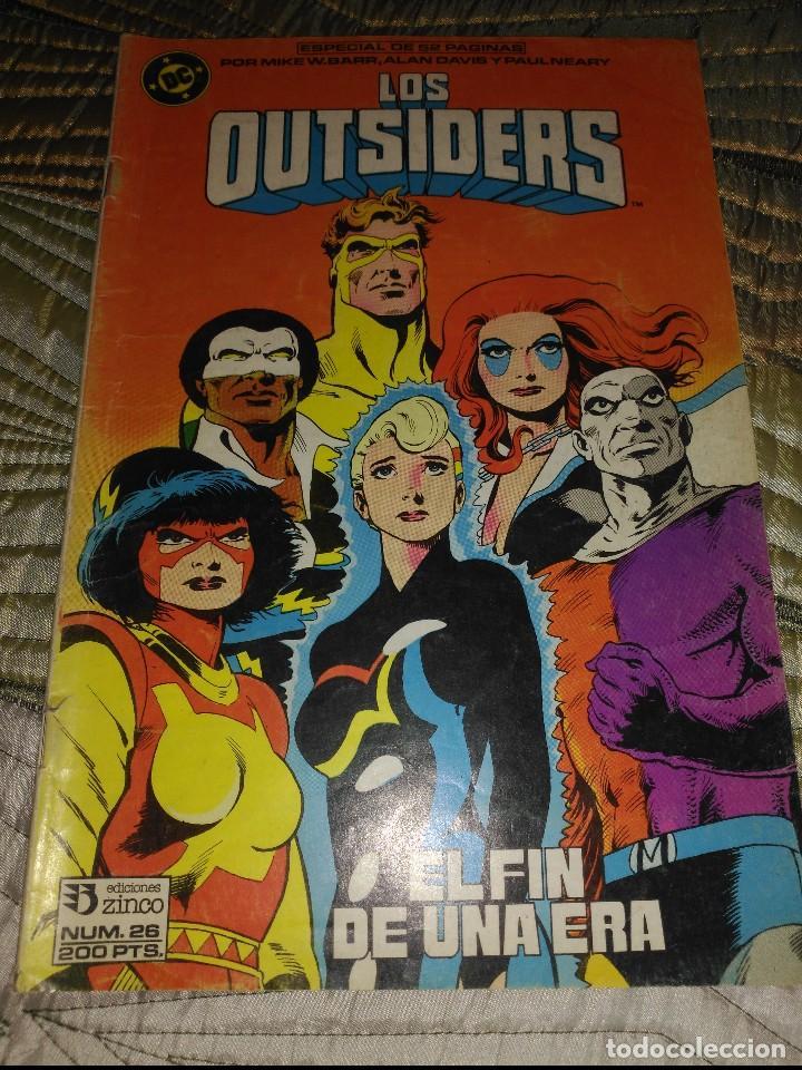 LOS OTSIDERS Nº 26 ESPECIAL DE 52 PÁGINAS (Tebeos y Comics - Zinco - Outsider)