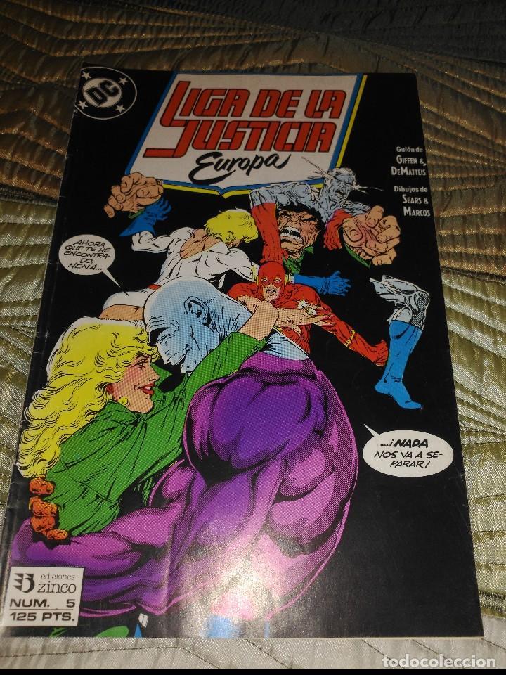 LIGA DE LA JUSTICIA EUROPA Nª 5 (Tebeos y Comics - Zinco - Liga de la Justicia)