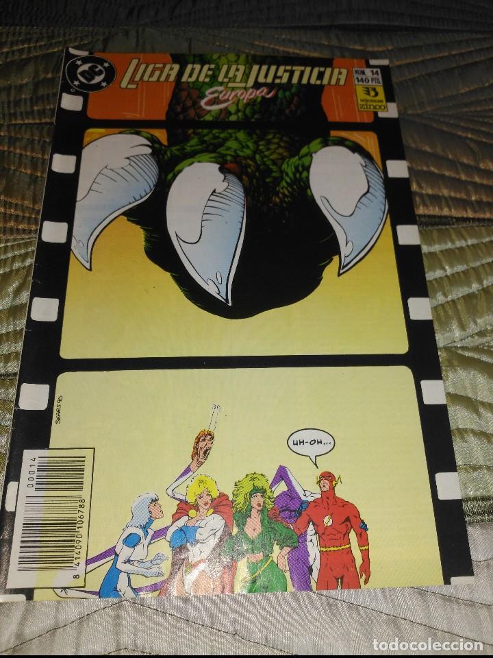 LIGA DE LA JUSTICIA EUROPA Nª 14 (Tebeos y Comics - Zinco - Liga de la Justicia)