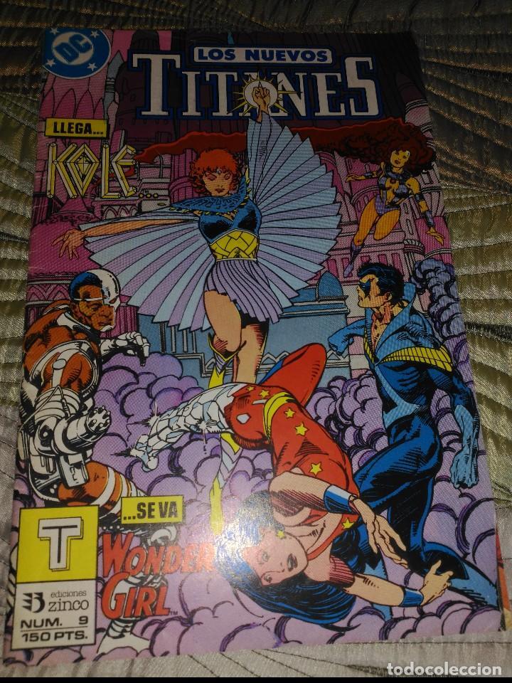 NUEVOS TITANES VOL.2 Nº 9 (Tebeos y Comics - Zinco - Nuevos Titanes)