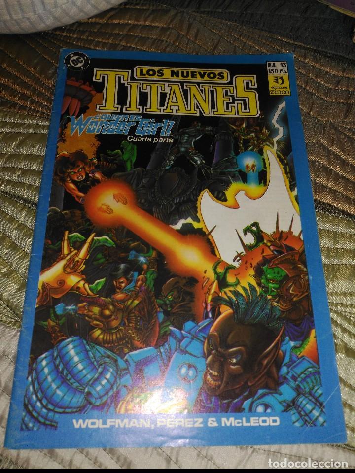 NUEVOS TITANES VOL.2 Nº 13 (Tebeos y Comics - Zinco - Nuevos Titanes)