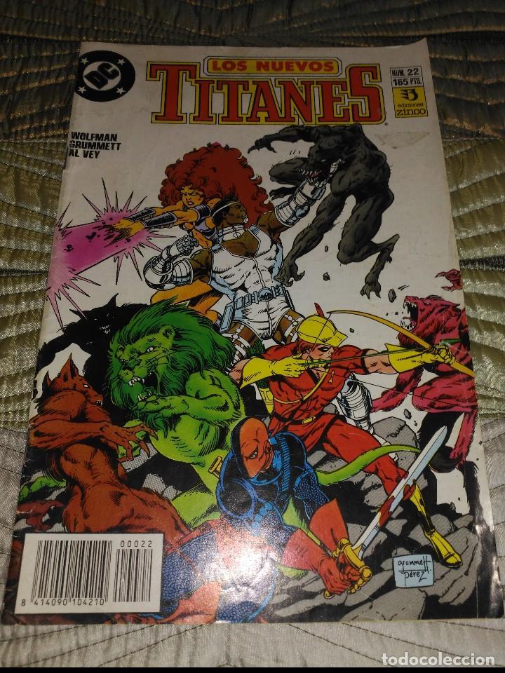 NUEVOS TITANES VOL.2 Nº 22 (Tebeos y Comics - Zinco - Nuevos Titanes)