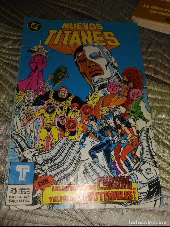 NUEVOS TITANES VOL.1 Nº 47 (Tebeos y Comics - Zinco - Nuevos Titanes)