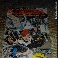 Cómics: LEGIÓN DE SUPERHEROES RETAPADO CON NÚMEROS 19 AL 23.. Lote 137340550