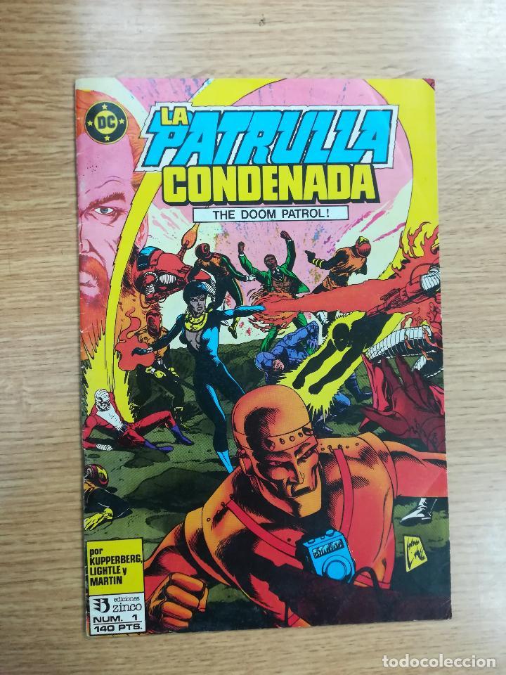 PATRULLA CONDENADA #1 (Tebeos y Comics - Zinco - Patrulla Condenada)