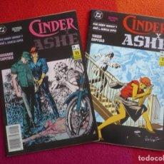 Cómics: CINDER Y ASHE Nº 2 Y 3 ( GERRY CONWAY JOSE L. GARCIA LOPEZ ) ¡MUY BUEN ESTADO! ZINCO DC. Lote 138093706
