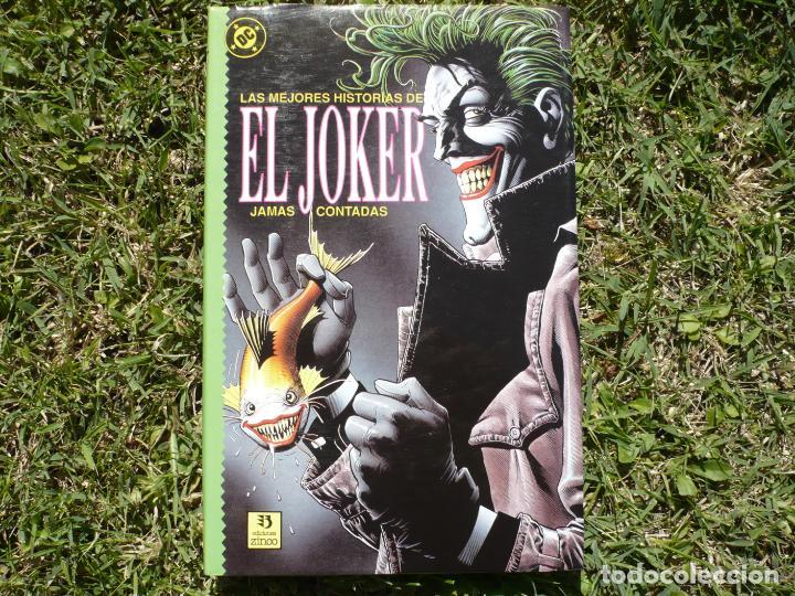 Cómics: Lote Las Mejores Historias de Batman / el Joker Jamás Contadas. Ediciones Zinco. - Foto 4 - 147680022