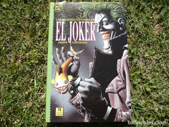 Cómics: Lote Las Mejores Historias de Batman / el Joker Jamás Contadas. Ediciones Zinco. - Foto 5 - 147680022