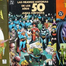 Cómics: LAS MEJORES HISTORIAS DE LA EDAD DORADA / DE TEAM - UP / DE LOS AÑOS 50 JAMÁS CONTADAS. ED. ZINCO.. Lote 138109158