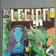 Cómics: LEGION 91 N° 6 ESTADO NORMAL PRECIO NEGOCIABLE MIRE MIS ARTICULOS. Lote 138107842