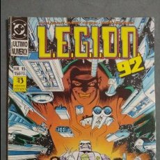 Cómics: LEGION 92 N° 15 ESTADO NORMAL PRECIO NEGOCIABLE MIRE MIS ARTICULOS. Lote 138107962