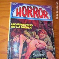 Cómics: HORROR Nº 42 - ED. ZINCO COMIX . Lote 138579634