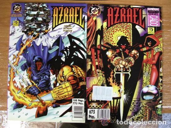 AZRAEL : ANGEL CAIDO ¡ COMPLETA 2 NUMEROS ! / DC - ZINCO (Tebeos y Comics - Zinco - Superman)
