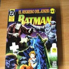 Cómics: BATMAN : EL REGRESO DEL JOKER ¡ ONE SHOT ! / DC - ZINCO. Lote 253165750
