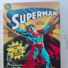 Cómics: SUPERMAN.DEL 6 AL 10.MUY NUEVO. Lote 138846338